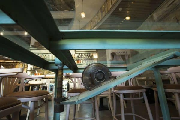 An Upcycled Greek Tavern Recycled Furniture