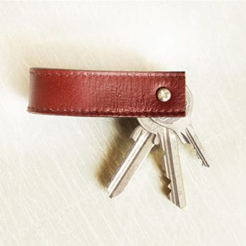 Old Belt Into Key Chain