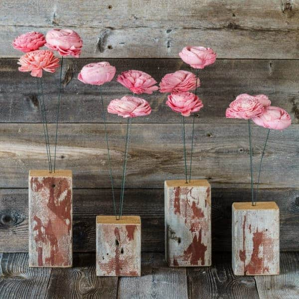 Upcycled Flowers Accessories