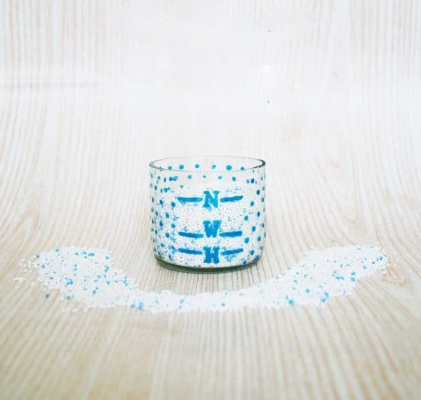 Diy: Detergent Cup Recycled Glass