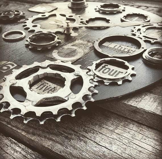 Bike Enthusiast Clock Accessories Bike & Friends