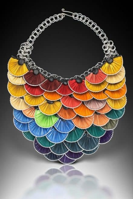 Beautiful Jewels Made From Upcycled Nespresso Caps
