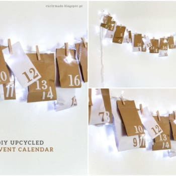 DIY Upcycled Advent Calendar From Paper Bags