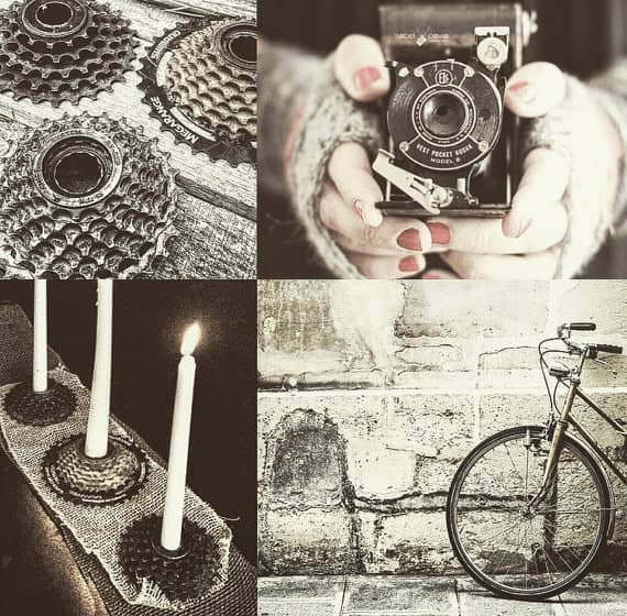 Bike Enthusiast Candleholder Accessories Bike & Friends
