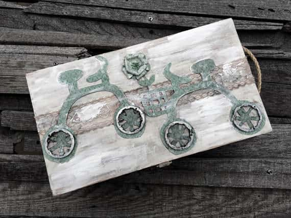 Decorative Keepsake Box Accessories Bike & Friends