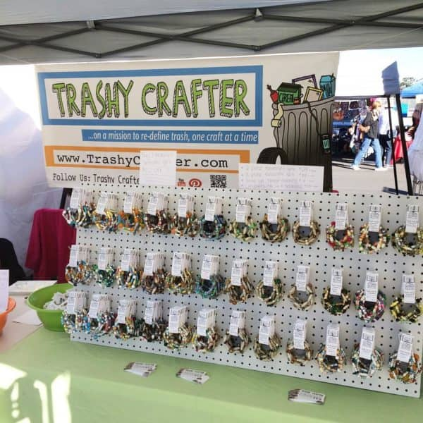 Recycled Art Interview #5: Kimberly Franklin From Trashy Crafter Interviews