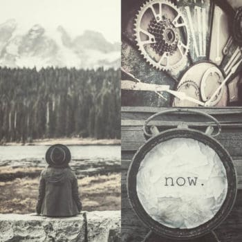 Timeless - Clock Design Featuring The Importance Of The Here the Now
