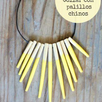 Upcycled Chopstick Into Necklace