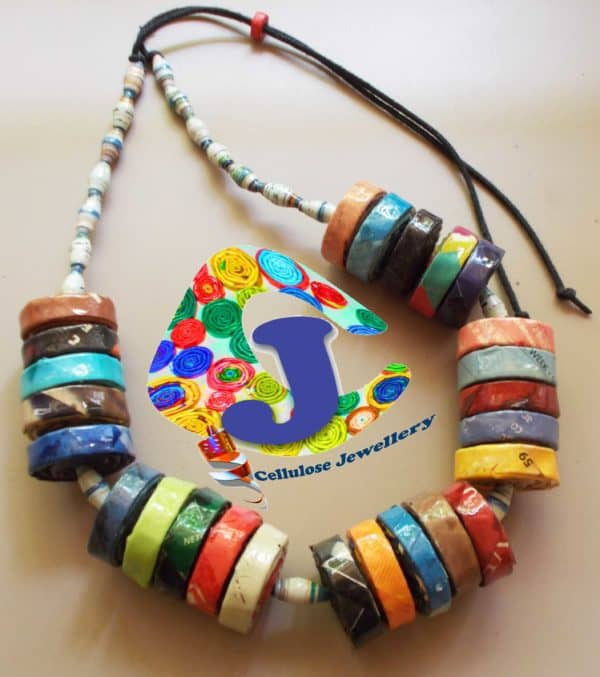 Upcycled Magazine Paper Jewelry Recycling Paper & Books Upcycled Jewelry Ideas