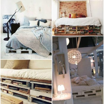 Upcycled Pallets Into Bed & Sofa