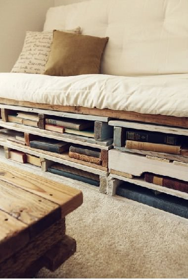 Upcycled Pallets Into Bed & Sofa Recycled Pallets