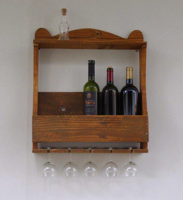 Wine Racks Made From Recycled Pallet Wood Recycled Pallets