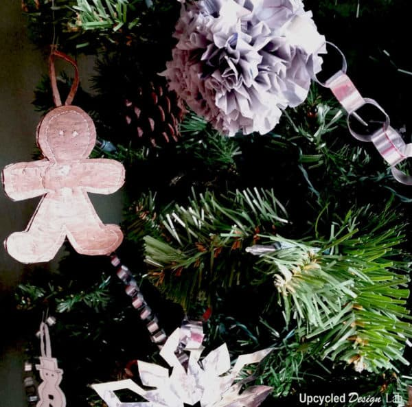 Upcycled Plastic Bag Into Christmas Decorations Accessories Do-It-Yourself Ideas