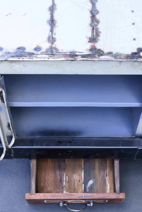 Old Vintage Jeep Repurposed Into Cabinet Recycled Furniture
