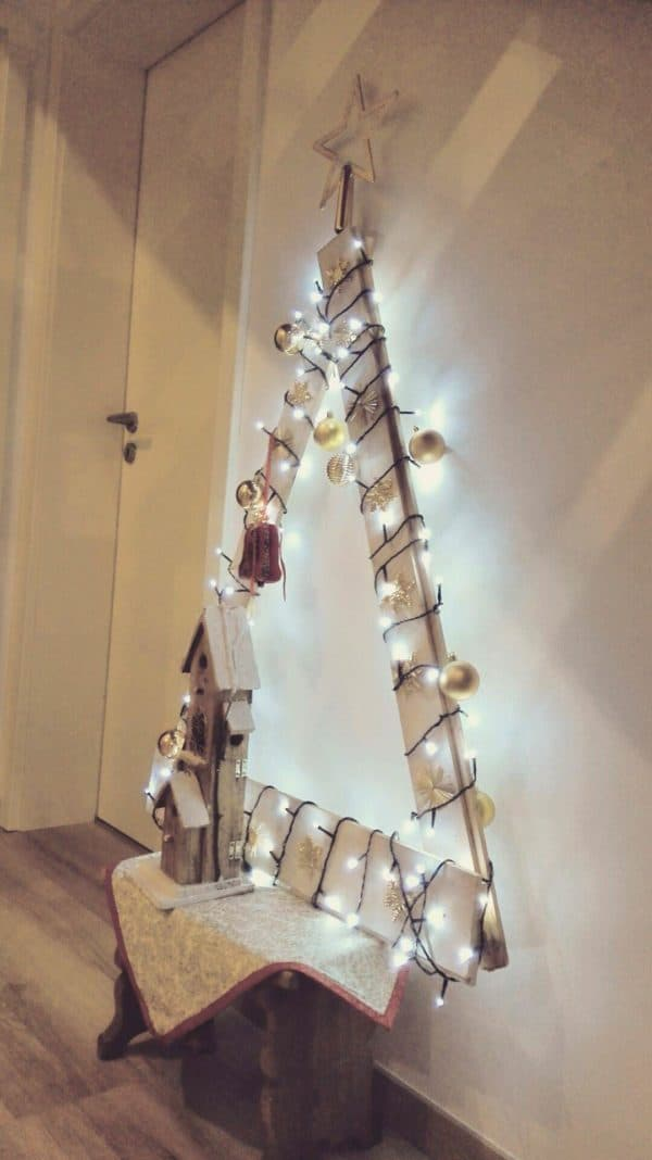 Christmas Tree from Repurposed Pallet Recycled Pallets