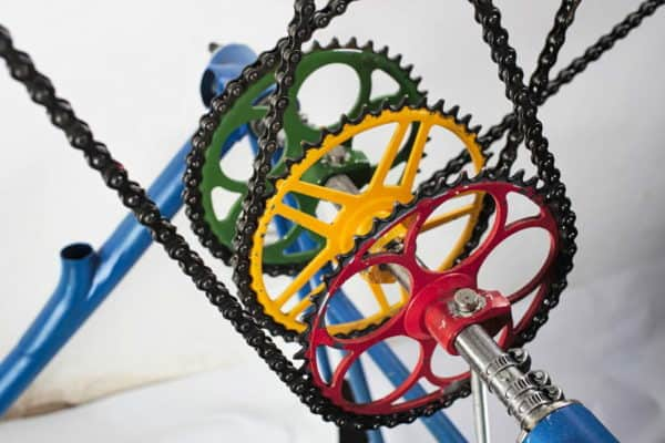 B*wall Home Improvement Upcycled Bicycle Parts