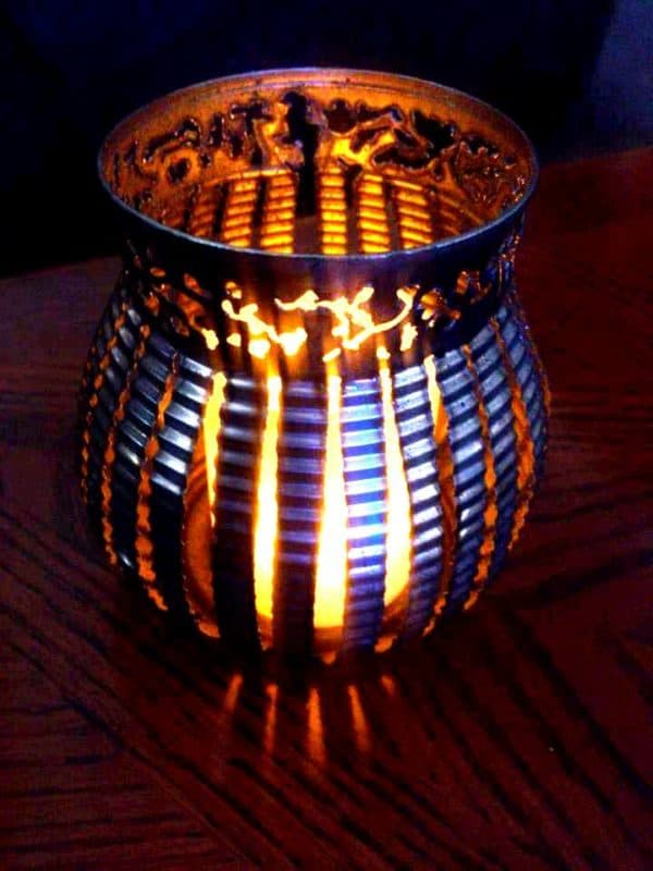 Can-delites, The Only Way To Burn A Candle Recycled Art