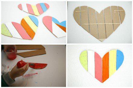 Cardboard Valentine Heart