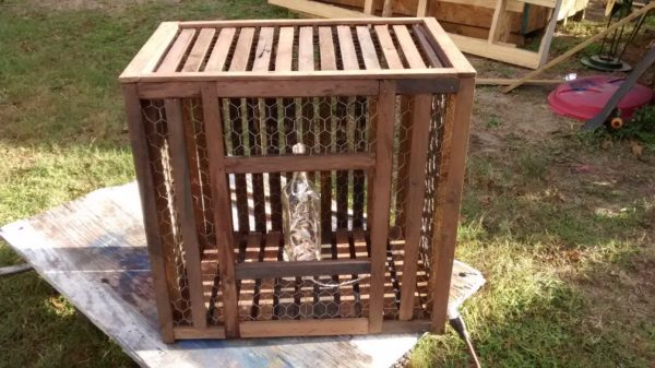 Crab Trap Style Table Recycled Furniture