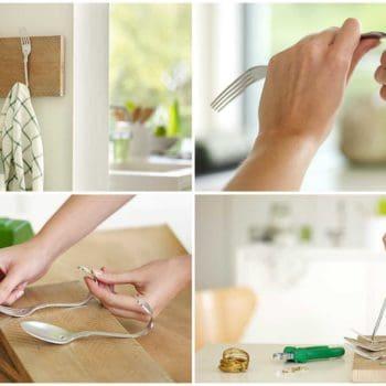 Diy: Beautiful Cutlery Hanging Rack