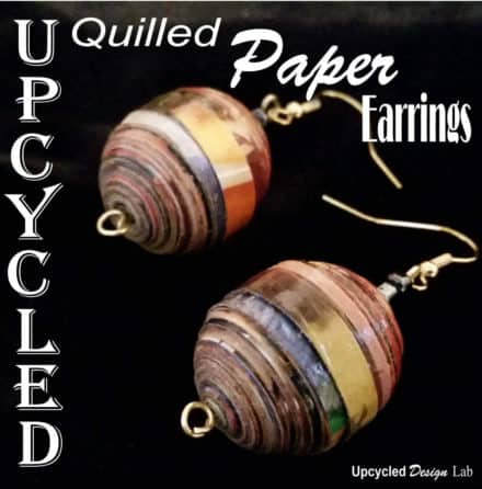 Jewelry Made From Old Recipe Books