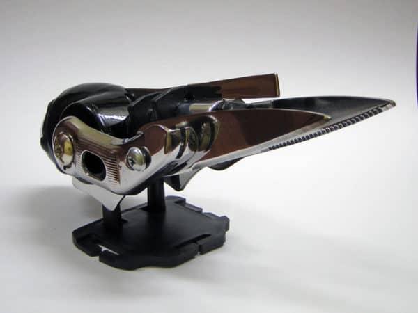 Junk Art Sparrow Recycled Art