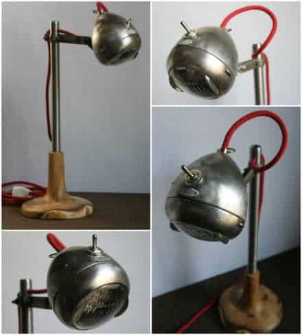 Light Rider: Desk Lamp from Upcycled Bike Light