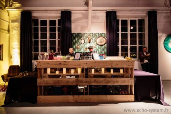 Open Sources Pallets Bar Recycled Furniture