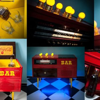 Original Retro Party Corners – From A Bedding Commode To a Bar