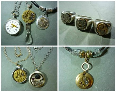Piece Of Time: Jewels from Upcycled Watch Parts