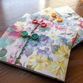 Renotes #1: Paper Waste into Notebooks