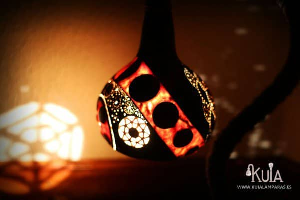 Design Ecological Lamps With Gourds Lamps & Lights