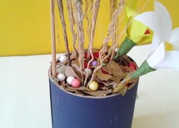 Diy best out of waste home decoration idea with dried - Home decor ideas from waste ...