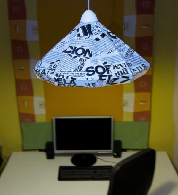 How To Make A Lamp With Cardboard And Paper Lamps & Lights Recycled Cardboard