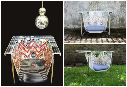 I Am Not a Bath, I Am Upcycled Outdoor Seats