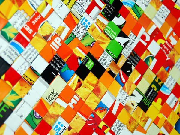 Origami Handmade Clutch Made Of Nachos & Βrioche Kings Packs Do-It-Yourself Ideas