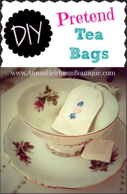 Diy: Pretend Tea Bags