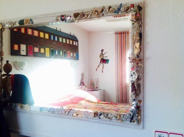 It Was A Tatty Mirror Accessories Do-It-Yourself Ideas
