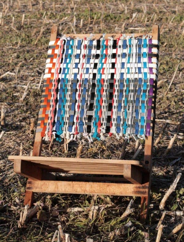 New Back for My Beach Chair's Recycled Furniture