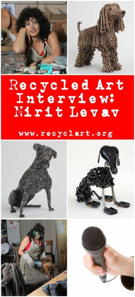 Recycled Art Interview #10: Nirit Levav