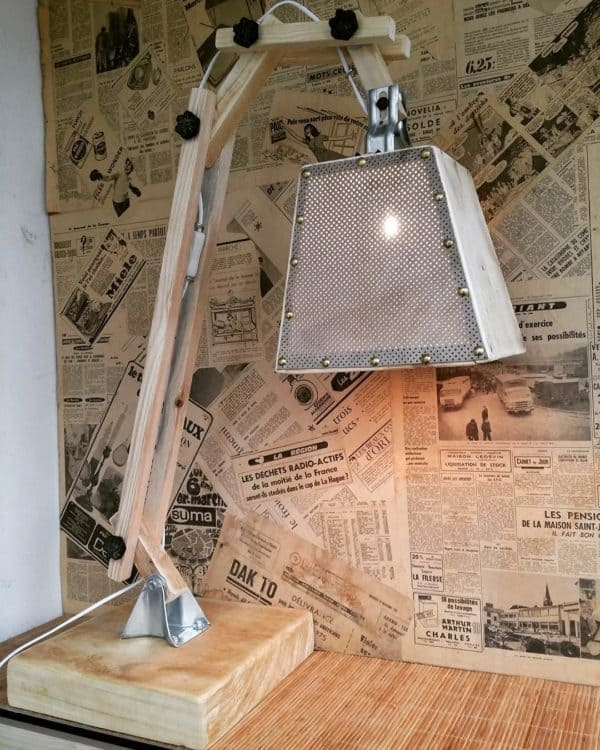 Upcycled Lamp Lamps & Lights