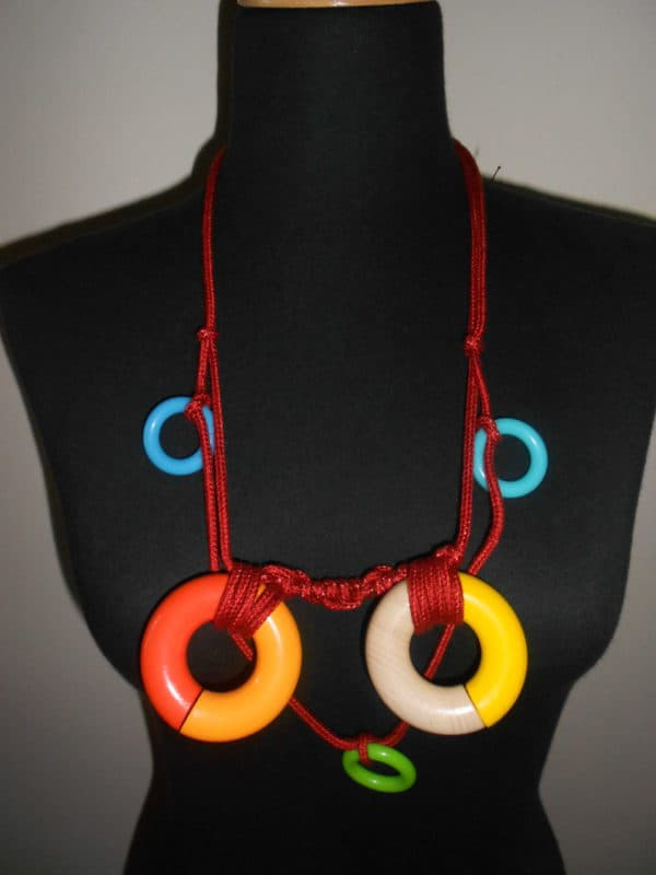 Upcycled Wooden Toys Into Necklaces Upcycled Jewelry Ideas