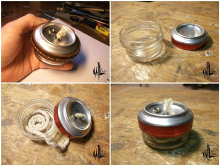 Alcohol Burner From Aluminum Can & Glass Jar (Diy)