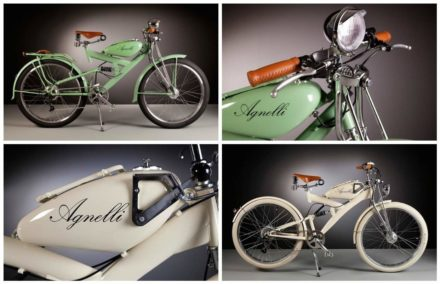 Beautiful Electric Bikes Made with Vintage Parts From the 1950s