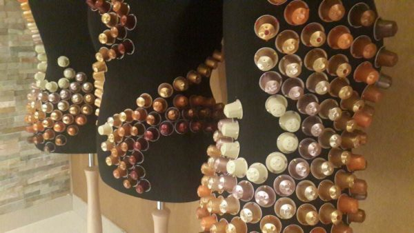 Coffee To Go: Nespresso Capsules Sparkle Recycled Art