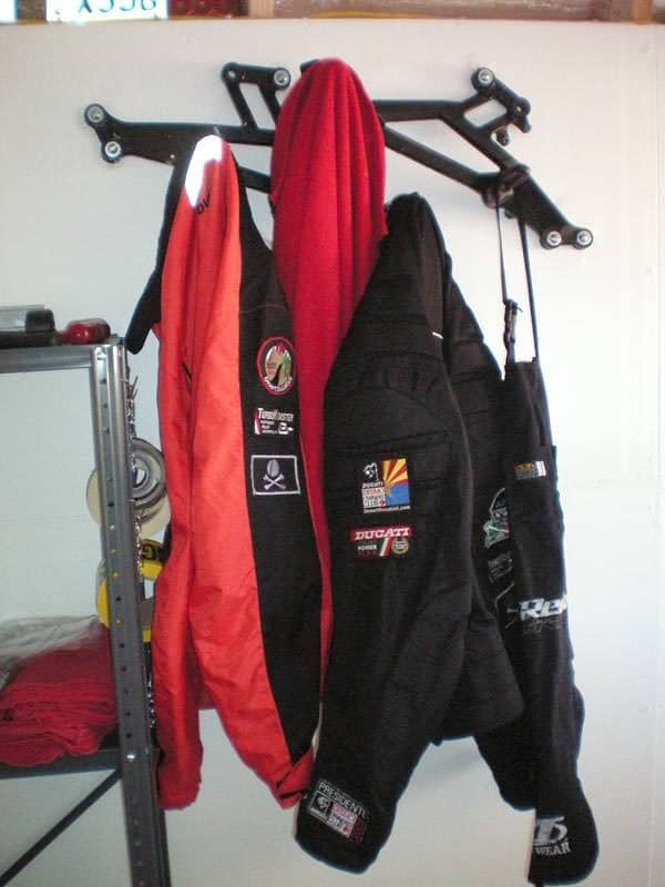 Ducati Parts Into Coat Rack Accessories Bike & Friends