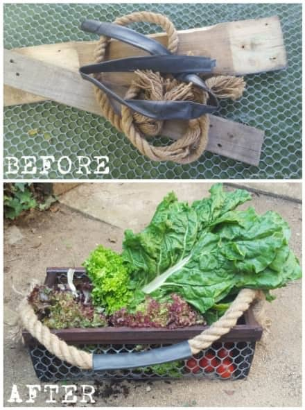 Easy DIY Harvesting Basket