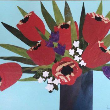 Paper Collage Workshop - Spring Tulips