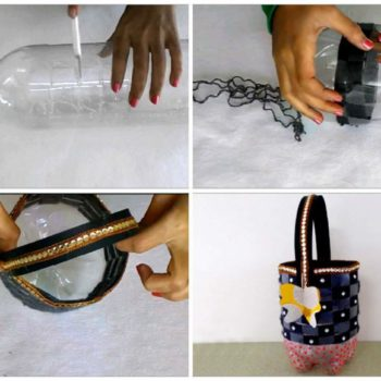 Recycle Bottle Craft: How To Make Utility Basket From Plastic Bottle