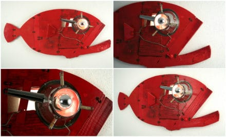 Red Grouper: Wall Sculpture & Lamp